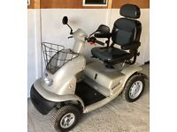 Large Pavement mobility scooter - TGA Breeze 4 full suspension 8mph