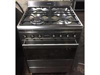 SMEG 60cm duel fuel cooker