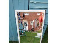 Large Mirror White Shabby Chic Frame 100 x 70
