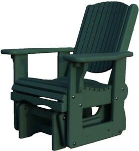 Canadian made cedar gliding chairs gliders - Free shipping across Canada