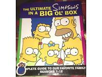 Simpson's collectors book set