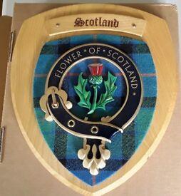 Scotcrest Wall Plaque
