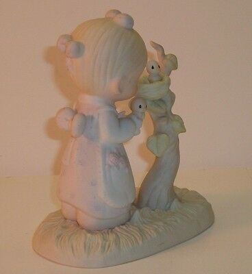 Vintage Enesco Precious Moments E-0530 - HIS EYE IS ON THE SPARROW