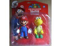 Mario Twin Figure Double Pack & Luigi Twin Figure Double Pack