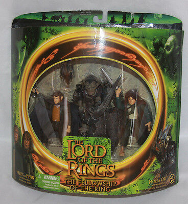 Moria Orc Action Figure Lord Of The Rings Fellowship Of The Ring New