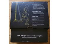 TRX Pro Suspension training kit.