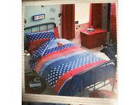 Brand new (still in packaging) Boys Next single bed set