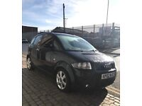 AUDI A2 1.4 SE 2002 RED LEATHER PANROOF