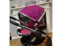 Pink icandy no carry cot