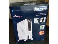DeLonghi Dragon 4s 2kw oil filled radiator, TRDS40820E, white, brand new still in unopened box.