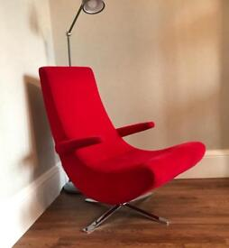 FAMA Spain Individual Red Armchair - £150