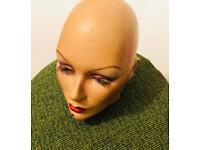 MANNEQUIN's HEAD FEMALE DUMMY