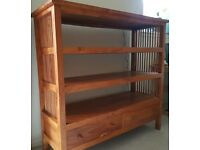 Solid Wood Shelf Unit/Bookcase