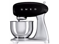 Smeg SMF01 Stand Mixer, Black BRAND NEW rrp £350