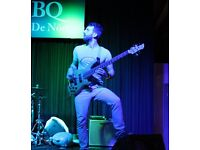 Bass Player available for groove, original or party-function bands, recordings