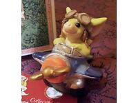 Pocket Dragon Figurine - 'Frequent Flyer' 1997 - new in box