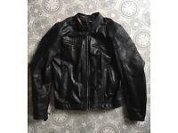 Spidi Cafe Racer Style Leather Jacket