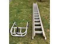 10.5metre Triple Trade Ladder + Stabiliser