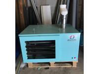 *Bargain* Powrmatic NVX-F 25 - Gas Fired Heater Unit - 25kw Hi Low Burner - Industrial Heater