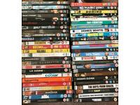 DVD's 50 various films.