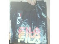 fila t-shirts sizes 13yrs and 7-8rs available