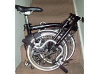 Brompton H3L Special - virtually new. Ridden less than a mile!