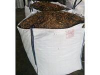 Bulk Bag of Woodchip. Garden Mulch/Bark/Chippings. Compost/Fertiliser/Fuel