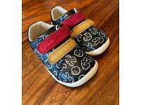 Clarks Disney Mickey shoes- size baby 3 1/2F