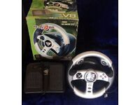 Xbox V8 Racer Wheel & Pedal Unit