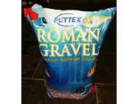 Aquatic Roman Gravel - Red White and Blue
