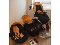 Hauck Priya Trio 3 in 1 Travel System in Excellent Condition plus Free Umbrella Stroller