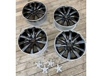 """Audi alloy wheels 19"""" wheels x4 no tyres all in great condition"""