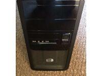 Custom PC, Intel i3-4150 3.5Ghz, Gigabyte GA-H81M, 120GB SSD, 8GB Ram, EVGA 500B