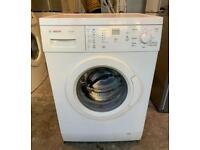 White Bosch Classixx Nice Washing Machine with Local Free Delivery