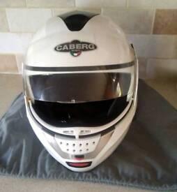 Caberg italian motorbike helmet justissimo gt front flip