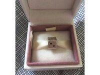 New Vintage Silver Dice Charm European Charm Bead Bracelet Christmas Present - Fits Pandora