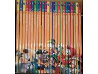 SET OF 24 DISNEY 'WONDERFUL WORLD OF KNOWLEDGE' CHILDREN'S BOOKS