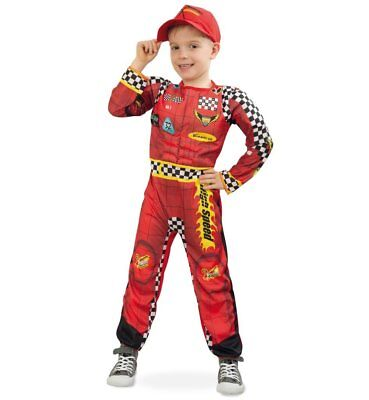 KarnevalsTeufel Rennfahrer rot 2. Wahl cars Overall Fasching Karneval 121013213