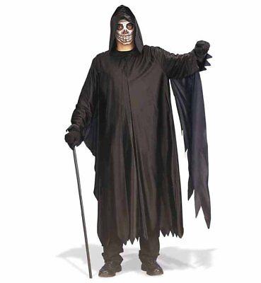 Fasching Halloween Darkman Henker Kutte mit Kapuze Gr. XXL NEU - Kostüm Darkman