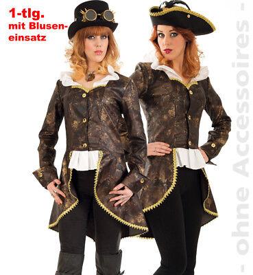Jacke Leonore 2.Wahl m. Bluseneinsatz Steampunk Frack Gothic Halloween 121071513