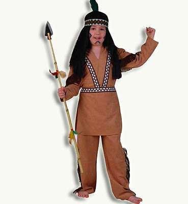 KarnevalsTeufel Indianer Oberteil 1tlg Indianerkostüm Kostüm Karneval 12201413