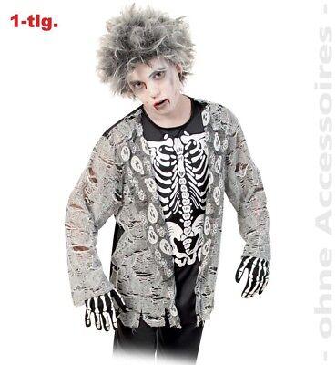 Fasching Zombie Junge 1-tlg. Kostüm Größe 140 Halloween NEU