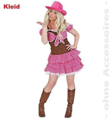 Cowgirl Dolly Kostüm 36-44 Line Dance Country Kleid Fasching Karneval - Line Dance Kostüm
