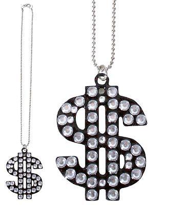 ette Rapperkette Rapper Dollarzeichen Halskette 124619813 (Dollarzeichen Halskette)
