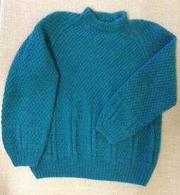 Hand Knitted Toddler Jumper