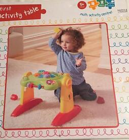 Marks and Spencer's My First Activity Table
