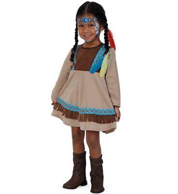 Indianerin Kleine Feder 86 98 Kostüm Indianermädchen Karneval (Kleines Mädchen Kostüm)