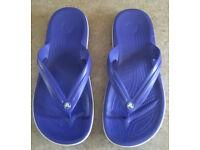 NEW Crocs Crocband Flip flops - Unisex - UK 7/8 - RRP £20