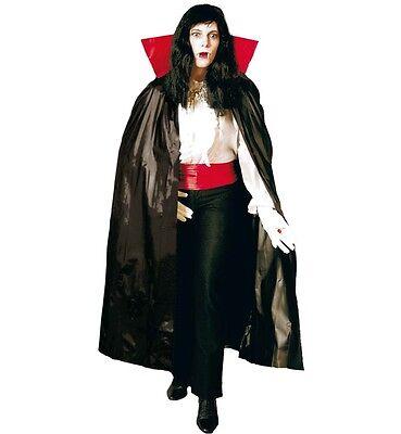 Vampir-Cape wasserabweisend Vampirumhang Umhang schwarz rot Halloween - Vampir Kostüm Rot Cape