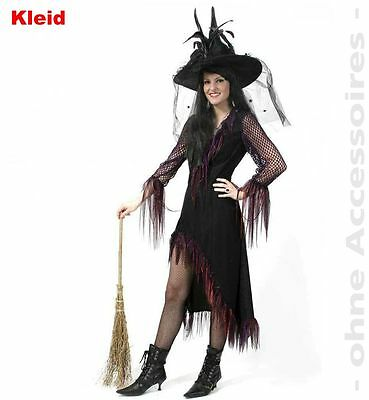KarnevalsTeufel Hexe Feodora 2. Wahl lila Walpurgisnacht Halloween (Walpurgisnacht Kostüm)
